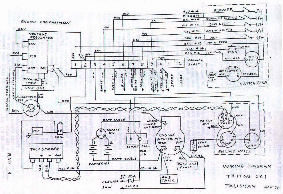 wiring pearson triton wiring diagram triton boat trailer wiring diagram at beritabola.co